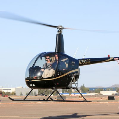 Helicopter pilot training courses